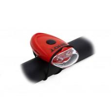 Фонарь мигалка задний  A-Short R с 2 красными светодиодами на эластичном креплении