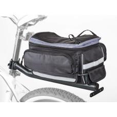 Сумка на багажник с багажником Author A-N LitePack 9 X7 , обьем 11 л.