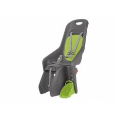 Кресло детское Author Bubbly maxi CFS X8, на багажник, зелено/серое