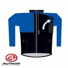Куртка AF-4 Windout  M Синяя с отстегивающимися рукавами,непродуваемая
