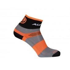 Носки  XC, размер S 37-40, черно/серо/оранжевые